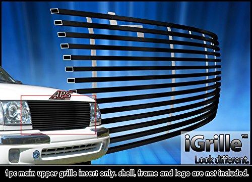 1998 Black Billet Grille (Black Stainless Steel eGrille Billet Grille Grill For 1998-2000 Toyota Tacoma)