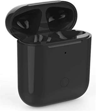 Estuche de Carga Inalámbrica con Botón de Sincronización Compatible con AirPods 1 y 2 Reemplazo con Emparejamiento Bluetooth (Air Pods no Incluidas), Cubierta Protectora para Auriculares: Amazon.es: Electrónica