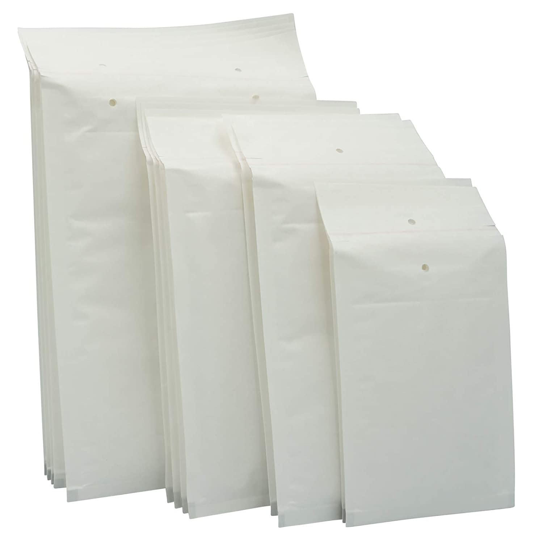 4//D - - Luftpolstertaschen//Versandtaschen elb-verpackungen 200 x 275 50 St/ück Luftpolsterumschl/äge in weiss