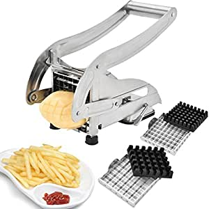 Amazon.com: EEO French Fries Cutter, Stainless Steel No