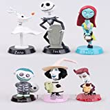 jack bobblehead - Nightmare Before Christmas Jack Skellington Set Head Figure Car Dashboard Decors Bobbleheads Toy Office Home Accessories