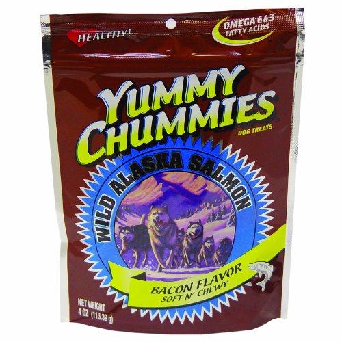 Yummy Chummies Arctic Paws 4-Ounce Salmon & Bacon Flavor Soft & Chewy