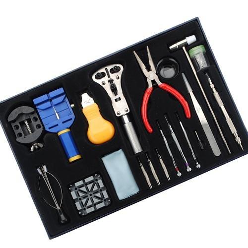 - 20pcs Wrist Watch Repair Tools Set Kits Pin&hand Remover