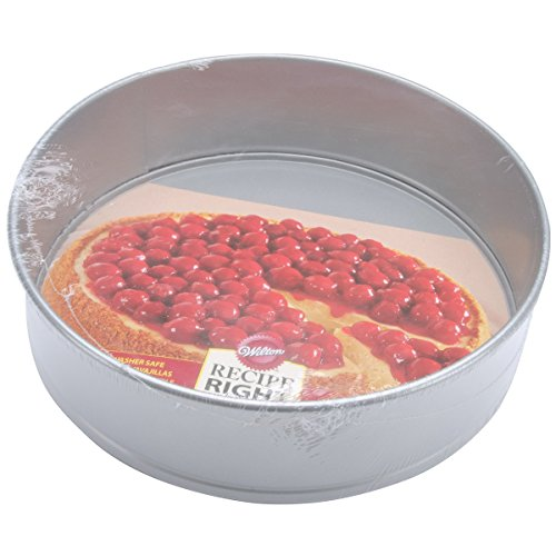 Wilton Recipe Right Non-Stick Springform Cake Pan, 10-Inch