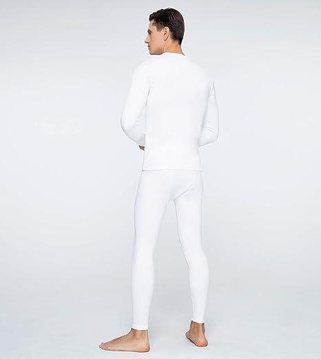 LAPASA Men/'s Thermal Underwear Set Thermal Underwear Men Thermals Men Long Sleeve Top /& Bottom Long Johns for Men Thermal M11,M53,M57