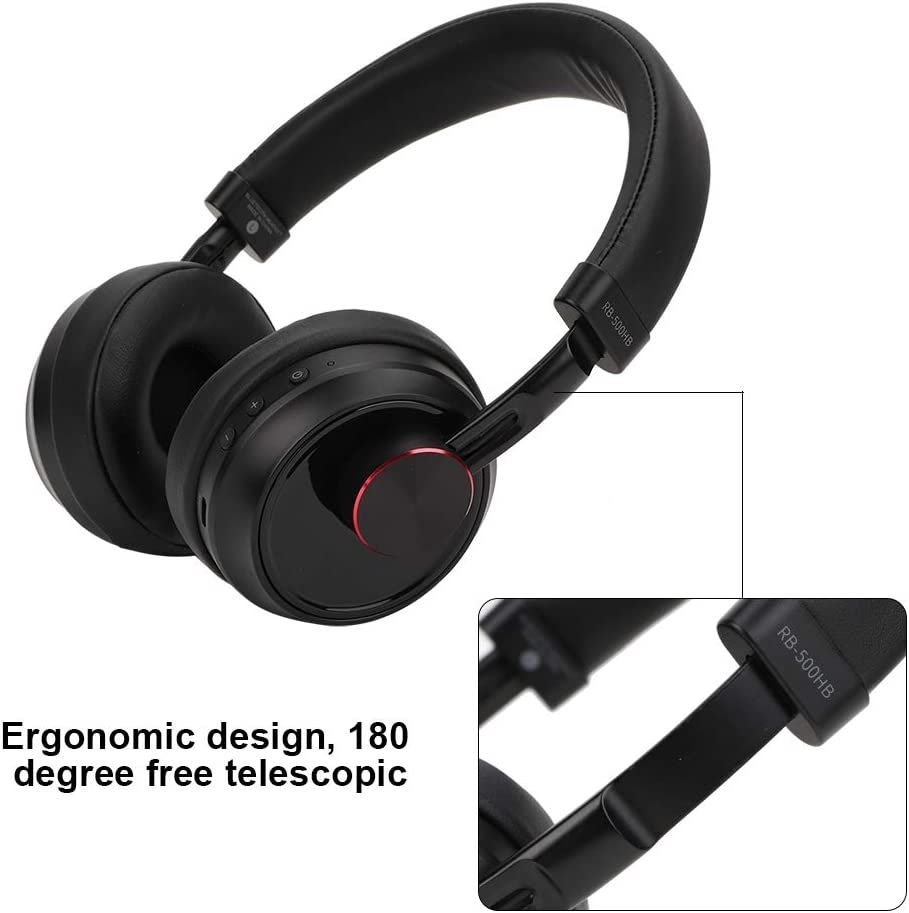 Tablet PC PS4 Bluetooth Headphones Wireless//Wired Bluetooth Music Earphones Headset with Microphone Noise Canceling Foldable Stereo Gaming Headphones Headset for Smartphone etc.