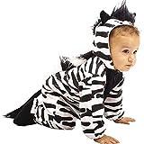 Unique Child's Infant Baby Zebra Costume (12 Months)