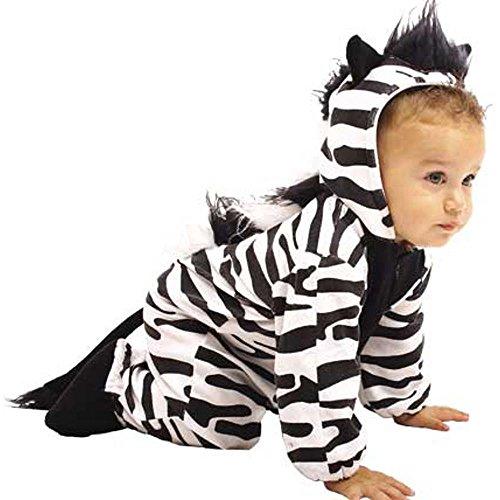 Child's Infant Baby Zebra Costume