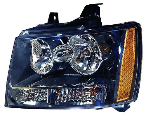 Depo 335-1141L-AC2 Chevrolet Avalanche/Suburban/Tahoe Left Hand Side CAPA Certified Head Lamp Assembly
