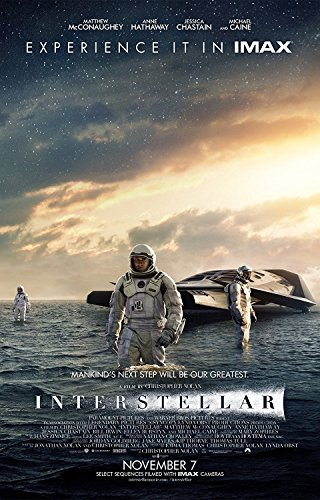 Interstellar 2014 movie poster family silk wall print 36 inc