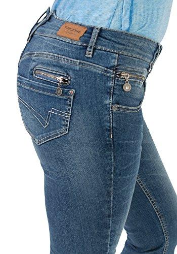 Wash Pantaloncini Blu 3153 Timezone Vintage Light Textil Donna AwWqYB