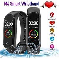 M4 Akıllı Bileklik Saat Kalp Ritim Koşu Spor UykuTakip