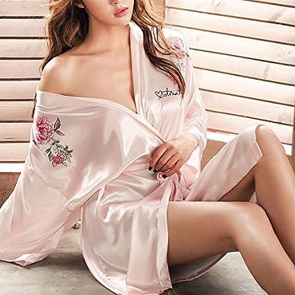 Swertuy Sexy Ropa Interior erótica Flor Trabajo Pesado Batas Bordadas Novias Pijamas Mostrar Discoteca Princesa Uniforme