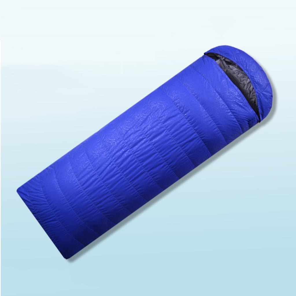 屋外の寝袋、フォーシーズンズの寝袋スーパー軽い携帯ガチョウの羽毛屋内の昼食ブレイクスリープバッグ B07B2RYGC3 600purple (pillow cushion)