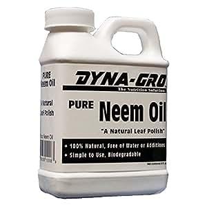Dyna-Gro Pure Neem Oil Natural Leaf Polish, 8 Ounces