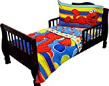 Sesame Street Elmo 4 - Piece Toddler Bedding Set
