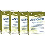 Bioserum Pack Ansiomed 4x45 (180) CÁPS - Combate la ansiedad de forma natural.