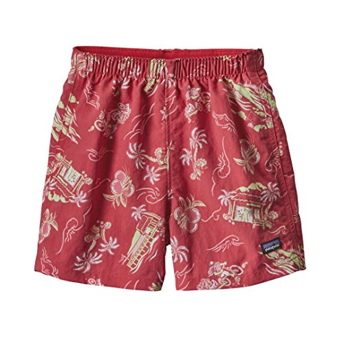 Price comparison product image Patagonia Baggies Lightweight Shorts - Baby's C Street Small: Cerise 6M