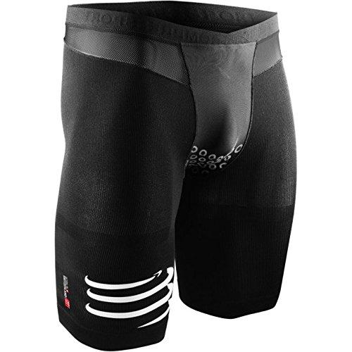 Compressport Triathlon TR3 Brutal Shorts V2, Schwarz, L, SHTRIV2-99-T3