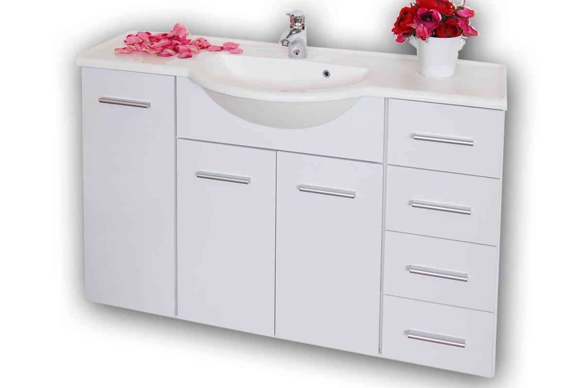 Labi Möbel Badezimmer Badmöbel Waschbecken Waschtisch mit ...