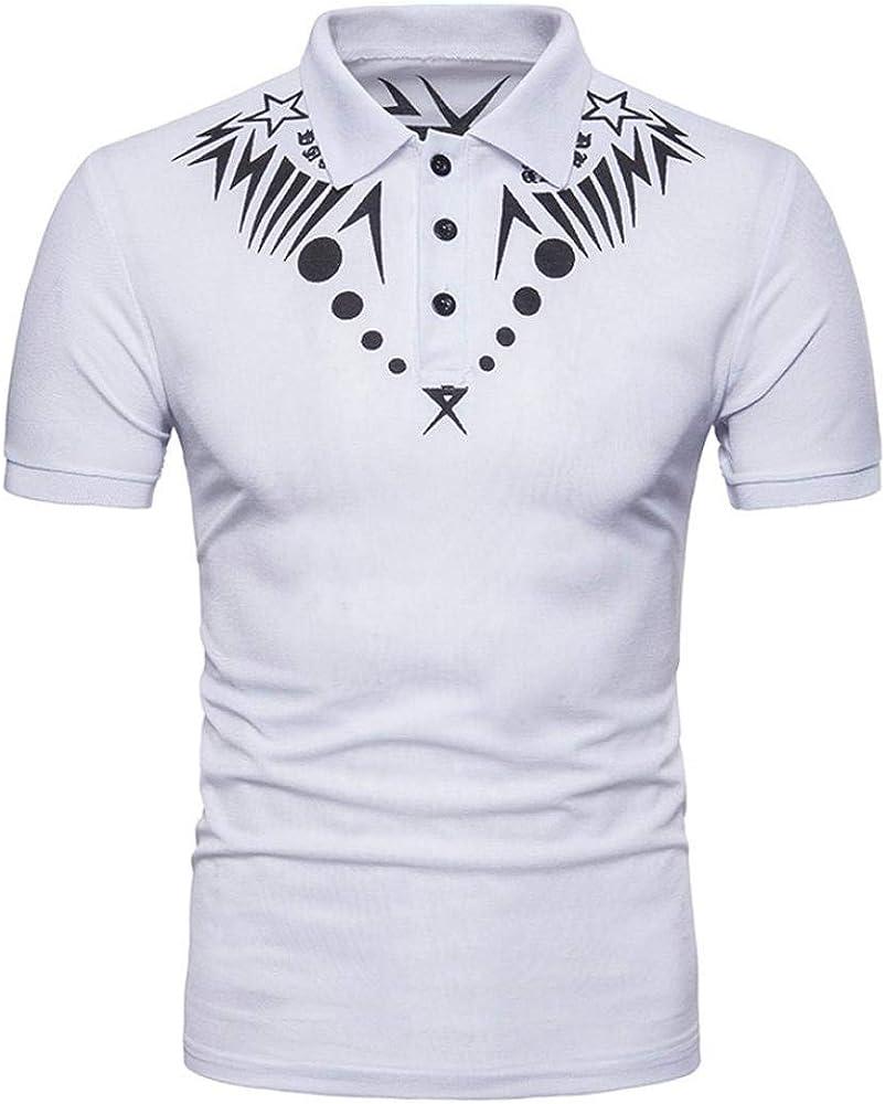 Herrent Camisa para Hombre De Verano Sudadera Jersey Capucha con Africana Musculoso Especial Estilo De Manga Corta Top Blusa Camiseta De Polo con Estampado De Hombres Estilo Étnico Masculina Tops: Amazon.es: Ropa
