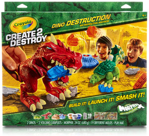 Amazon Com Crayola Create 2 Destroy Dino Destruction