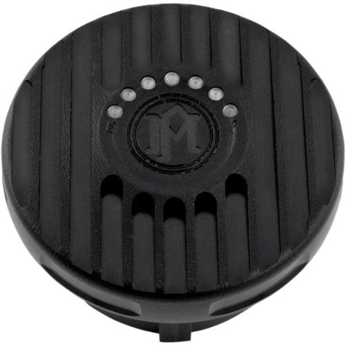 Performance Machine Grill Gas Cap With LED Fuel Light - Black Ops 0210-2025GRL-SM