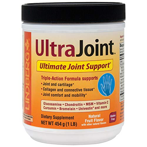Joint Formula Powder - Lindberg UltraJoint Powder 1 Lb - A Comprehensive, Triple-Action Joint Formula
