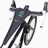 Powr Labs Bike Sweat Guard - Bike Towel, Bicycle Sweat Net Bike, Bicycle Sweat Guard for Wahoo Kickr, Peloton,