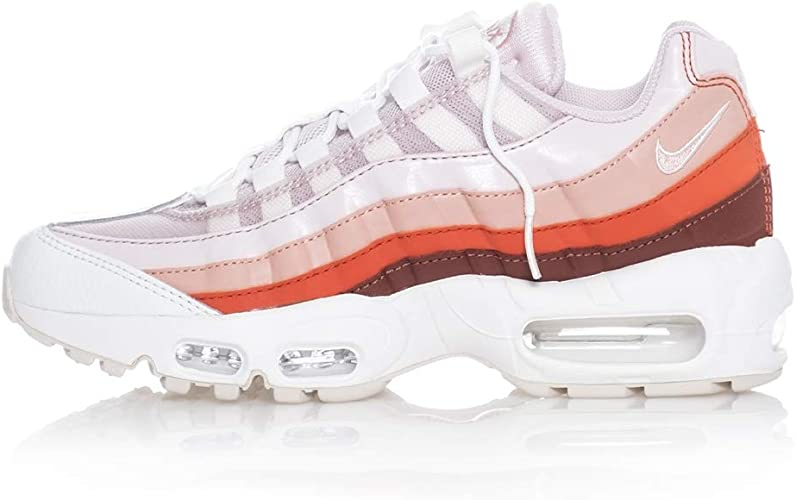 Onnipotente pregiudizio spaventare  Nike Scarpe Donna WMNS AIR MAX 95 Shoe 307960.604 (37.5-604 Barely  Rose-Coral Stardust-Vintage Coral): Amazon.co.uk: Shoes & Bags