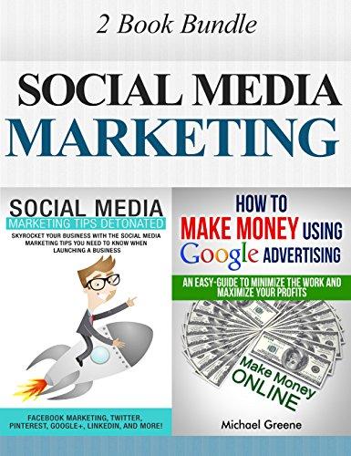 MARKETING: Social Media Marketing: 2 Book Bundle (Make Money, Social Media, Passive Income, Adwords) (Network Marketing, Money, Pinterest, Advertising, ... Internet Marketing 1) (English Edition)