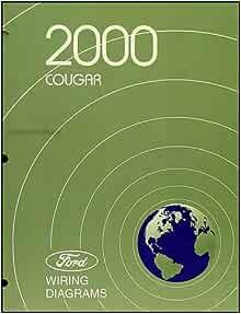 2000 Mercury Cougar Wiring Diagram Manual Original ...