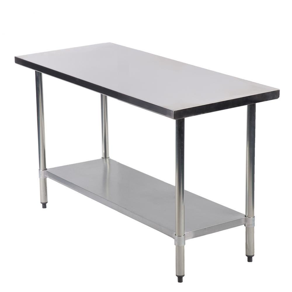 Commercial Kitchen Restaurant Stainless Steel Work Table 24 X 48
