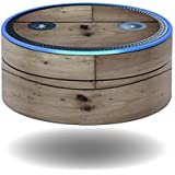 MightySkins Protective Vinyl Skin Decal for Amazon Echo Dot (1st Generation) wrap Cover Sticker Skins Wooden
