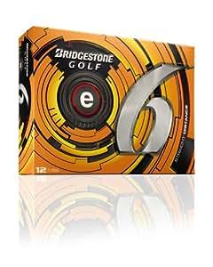 Bridgestone Golf 2013 e6 Golf Balls (Pack of 12), White