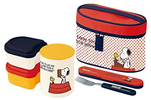 Ultra-lightweight warmth jar Lunch box 560ml Snoopy 15 KCLJC6 by Skater
