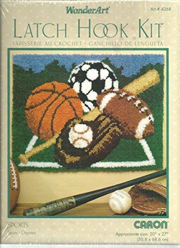 Latch Hook Kit - Sports by Caron ()