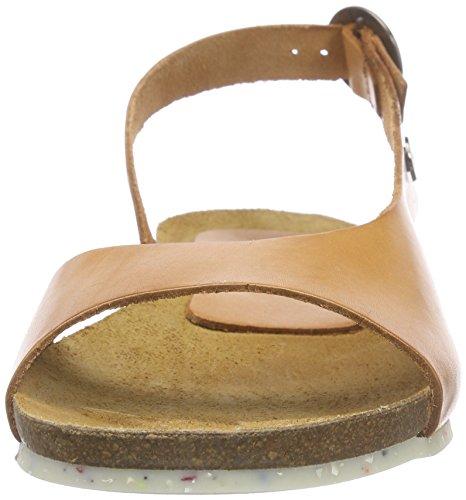 Jonny'sMeda - Sandalias de Talón Abierto Mujer Marrón - marrón (Cuero)