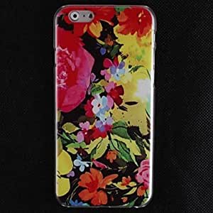 YULIN Oil Painting Petal Design Hard Cover Case for iPhone 6 Plus