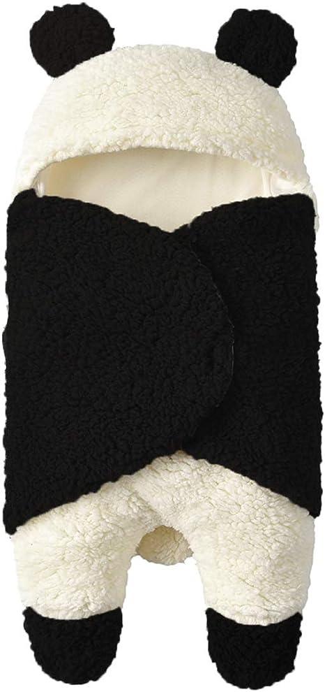 Mantas Envolventes Saco de Dormir bebe Recien Nacido Panda Swaddle ...