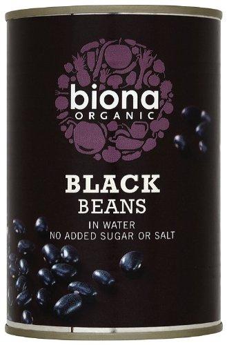 Biona Organic Canned Black Beans