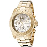 Invicta Mens 1774  Pro-Diver Collection 18k Gold Ion-Plated Stainless Steel Watch