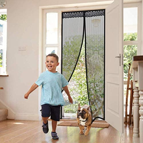 Porte/Moustiquaire/Magn/étique Magnetic Encryption Anti-mosquito Door Curtain Magnetic Screen Door Summer Household Anti-fly Mute Self-priming Bedroom Partition Screen