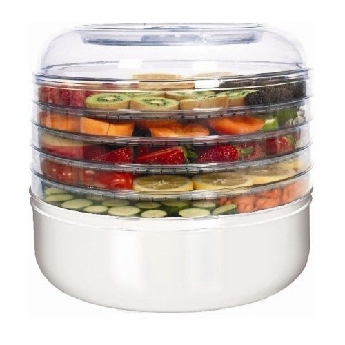 Ronco FD1005WHGEN 5-Tray Electric Food Dehydrator (2)