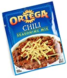 Ortega Chili Seasoning Mix, 1.25-Ounce Packets (Pack of 24)