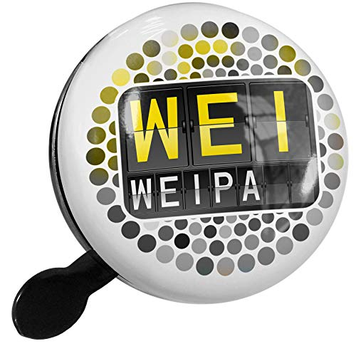 NEONBLOND Bike Bell WEI Airport Code for Weipa Scooter or Bicycle Horn