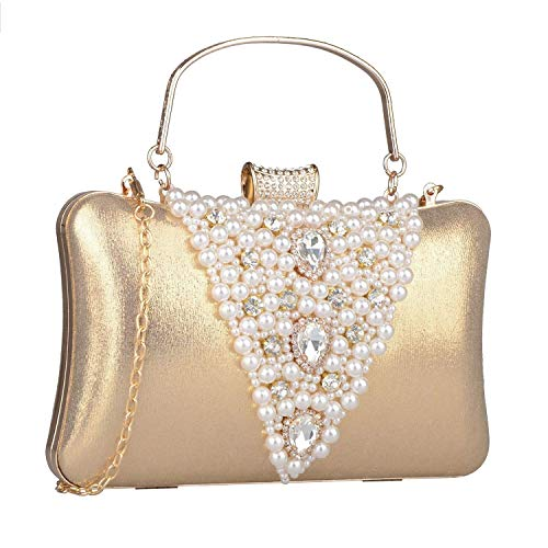 Luxe Sac Wedding Cristal Shell 8x2x5inch C Perle Main Belle fit Sacs à B Main Femmes Sac 20x6x13cm Party Soir à qzf7cwRntx