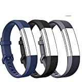 DB for Fitbit Alta HR 2017/Fitbit Alta 2016 Bands, Adjustable Soft Replacement Wristband for Fitbit Alta HR/Fitbit Alta Smart Fitness Tracker (with Colorful Mental Clasp,No Tracker) For Sale