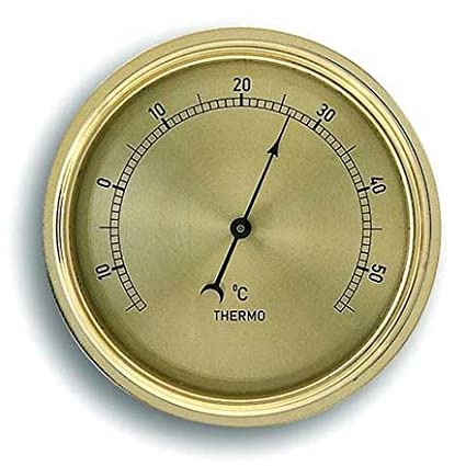 Brass-Look Thermometer Movement Insert 72mm K1.100396 TFA