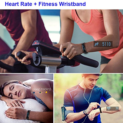 Fitness Tracker, CUBOT V3 Activity Tracker as Heart Rate Monitor, Pedometer, Sleep Monitor for Android and iOS